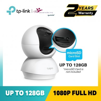 TP-Link WiFi Camera Tapo C200 - 1080HD Full HD IP Camera / Pan Tilt Home Security Wifi Wireless Camera
